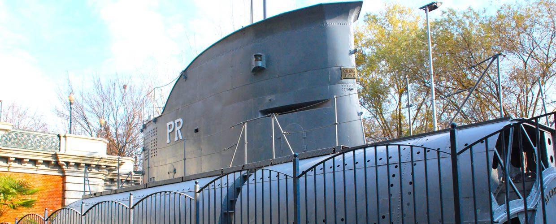 Un sottomarino nel Po