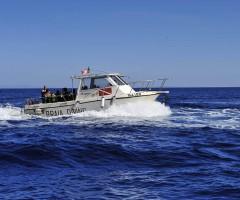 27 Barca Capraia Diving in navigazione