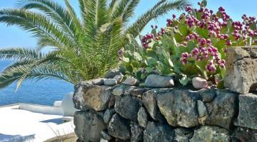Tipico paesaggio da isole siciliane