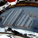 Un elmo Kirby Morgan, emblema del moderno palombaro - Ph by Dario Viccari e Associazione Nazionale Memoriale della Concordia