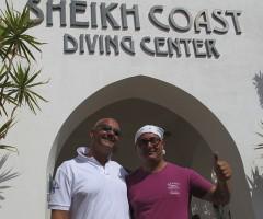 Nell'immagine, la sede del diving