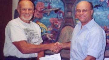 Tom e Fabio, contratto - Miami 2003
