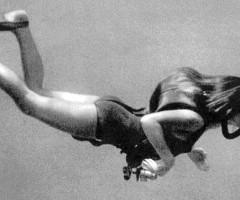 Lotte in immersione equipaggiata con un ARO – Autorespiratore a Ossigeno