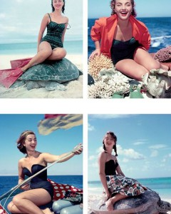 1952, Lotte fotografata durante un viaggio in Australia