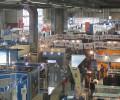 Vista dall'alto della mostra