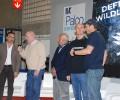Enzo Maiorca, Herbert Nitsch e Umberto Pelizzari nello stesso momento sul palco