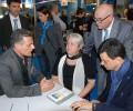 Il Trainer ASBI Manrico Volpi con la delegazione della CMAS