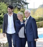 A sinistra Fabio Gallo, l'altro conduttore di Lineablu