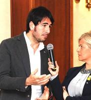 Fabio Gallo, il co-condutttore della trasmissione per alcune delle destinazioni del programma