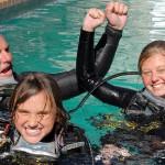 La subacquea consapevole