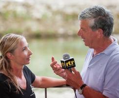 Silvia Boccato intervistata da una tv locale