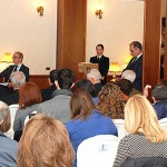 Un momento della presentazione di Lineablu 2015 presso il circolo ufficiali della Marina Militare in lungotevere Flaminio a Roma