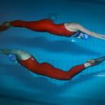 La campionessa di apnea Ilaria Bonin