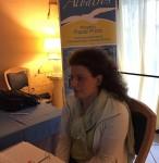 Fausta Stranieri laureanda con tesi in Albatros