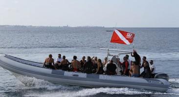 Gommone Costa del Sud diving