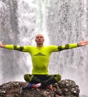 Il superprimatista d'immersione in apnea Gianluca Genoni
