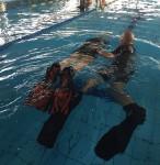 Momenti di apprendimento guidato in piscina