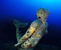 Statua della Sirenetta - Plemmirio - Commemorativa di Rossana Maiorca -  foto Elio Nicosia 2