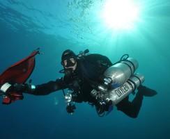 subacqueo tecnico GUE
