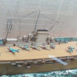 Graf Zeppelin qui riprodotta in un fedele modello in scala