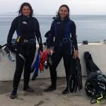Loredana Iurianello a sinistra con Monica Strano