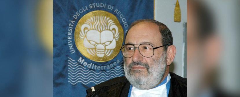 Umberto Eco, le parole e il mare