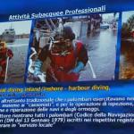 Momenti edizione 2015 di MareNordEst, presentazione subacquea industriale