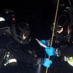 Danilo Bernasconi in immersione - ph. Giuseppe D'Urso