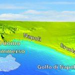 Modello tridimensionale del Golfo di Napoli e delle aree emerse circostanti