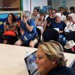 Sala-conference gremita mentre si svolge il premio DonnAmbiente