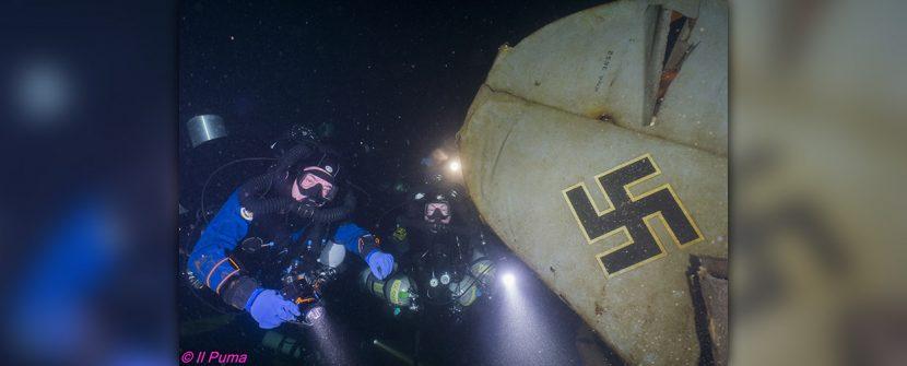 Immersione sul FockeWulfe 58 C (Bourget du Lac)