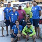 Squadra azzurra - Slovenia e equipaggio barca