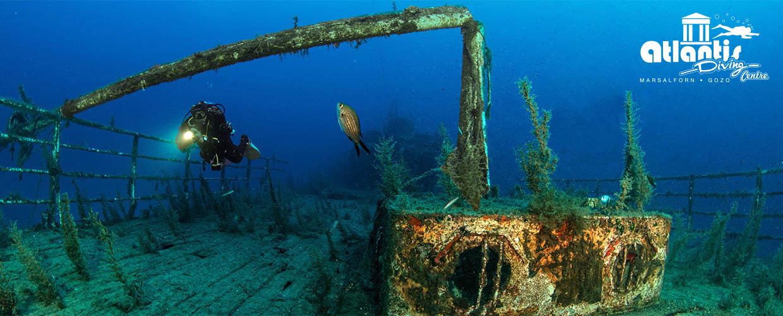 Atlantis diving centre gozo for Gozo dive centres