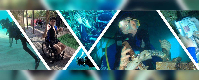 Disabilità e subacquea: che succede?