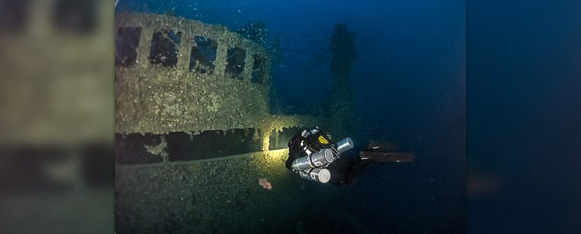 D/S Freienfels nel mare di Gorgona