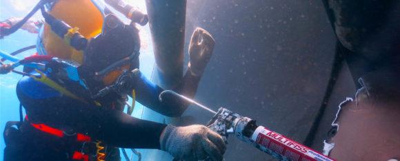 Il salvataggio subacqueo dell'Oceans Five