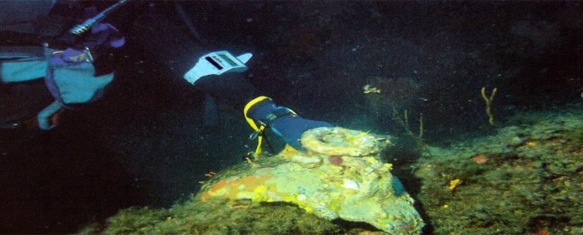 Archeologi a scuola di guida sub in ASBI