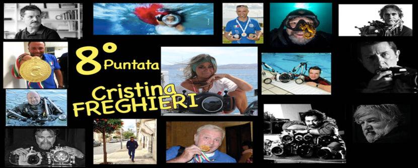 """Cristina FREGHIERI … la """"Fotosub Scrittrice"""""""